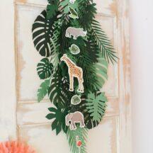 Dekoration Kindergeburtstag Dschungel Party