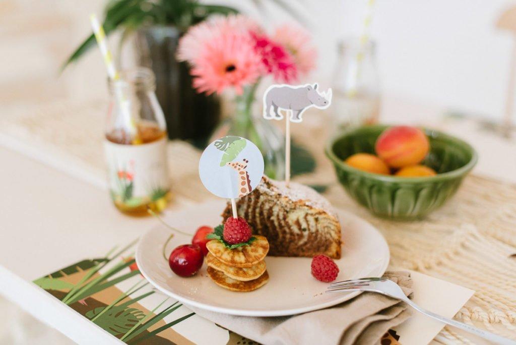 Torte, Pancakes Kindergeburtstag