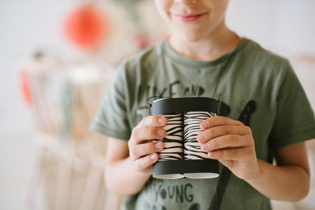 Kinderfernglas selber basteln