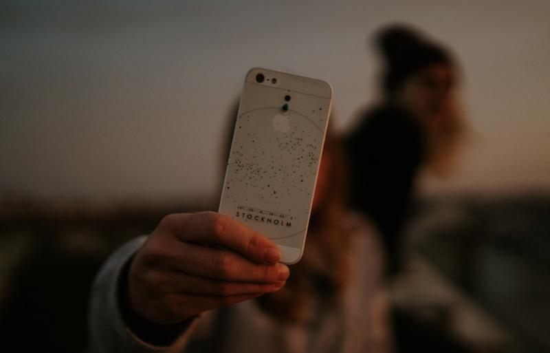Smartphone Case mit Sternenhimmel