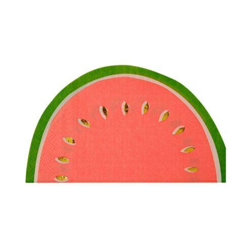 Papierserviette Wassermelone