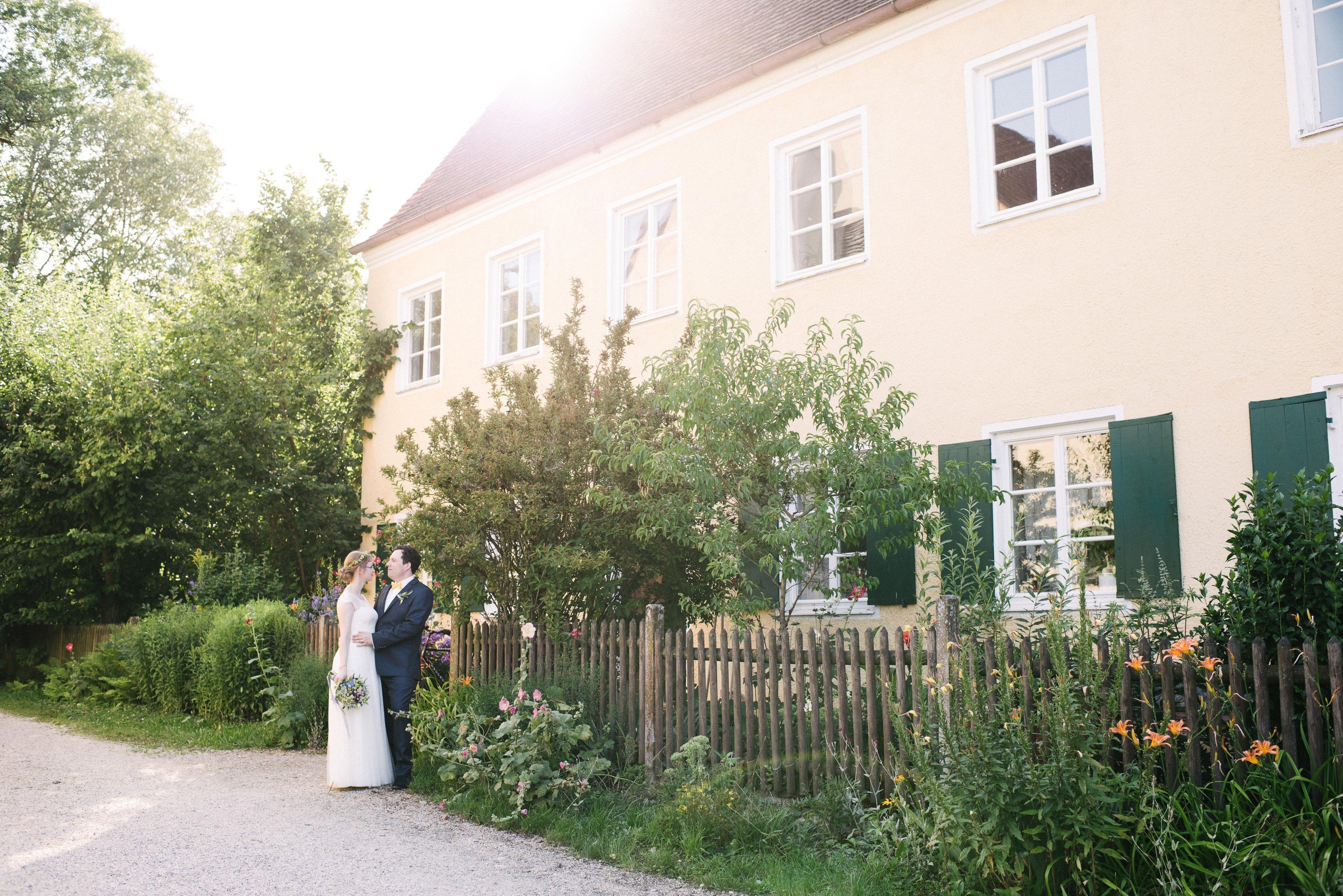Sommerhochzeit Schloss Blumenthal