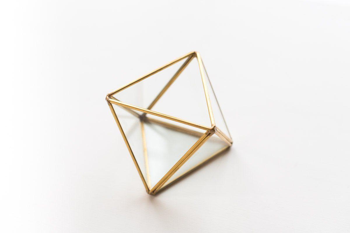 Holz Oktaeder
