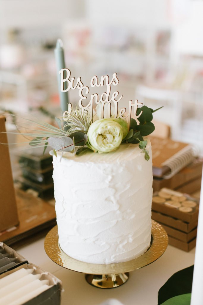 Papeterie Greenery Hochzeit gruen