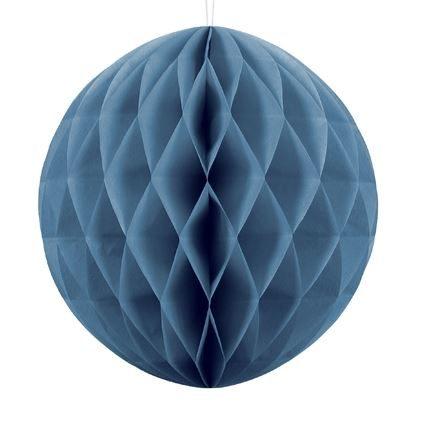 Wabenball Farbton blau