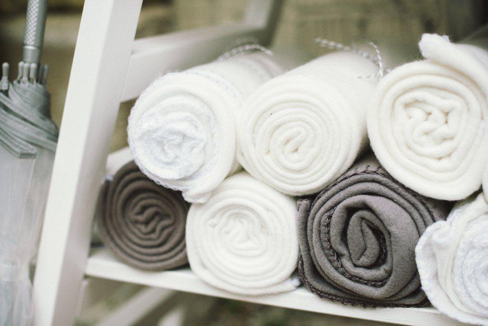 Warme Decken Hochzeitsgaeste