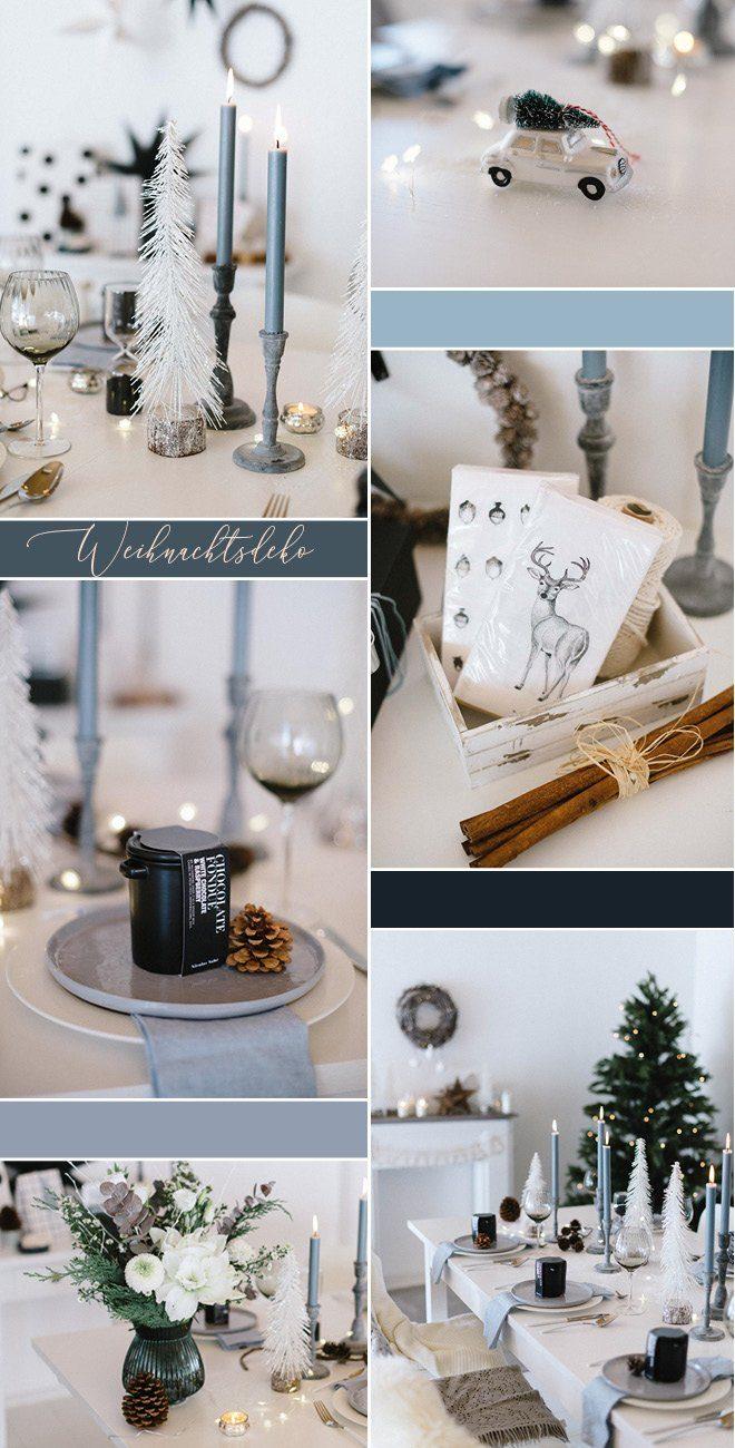 Weihnachtsdeko Winterwald