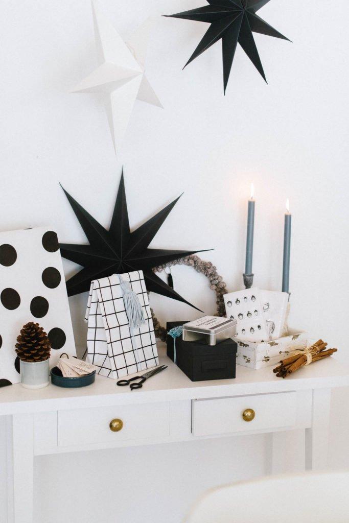 Geschenkeverpackung Weihnachten