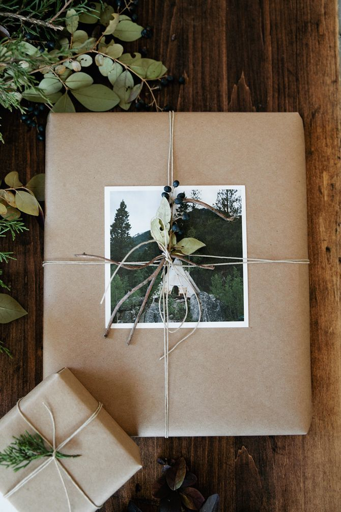 weihnachtsgeschenk-mit-foto-verpacken