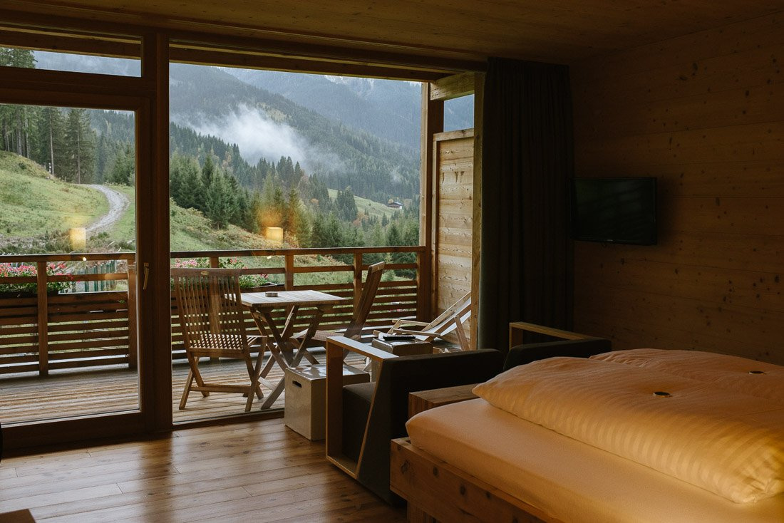 Zimmer mit Balkon Forsthofalm