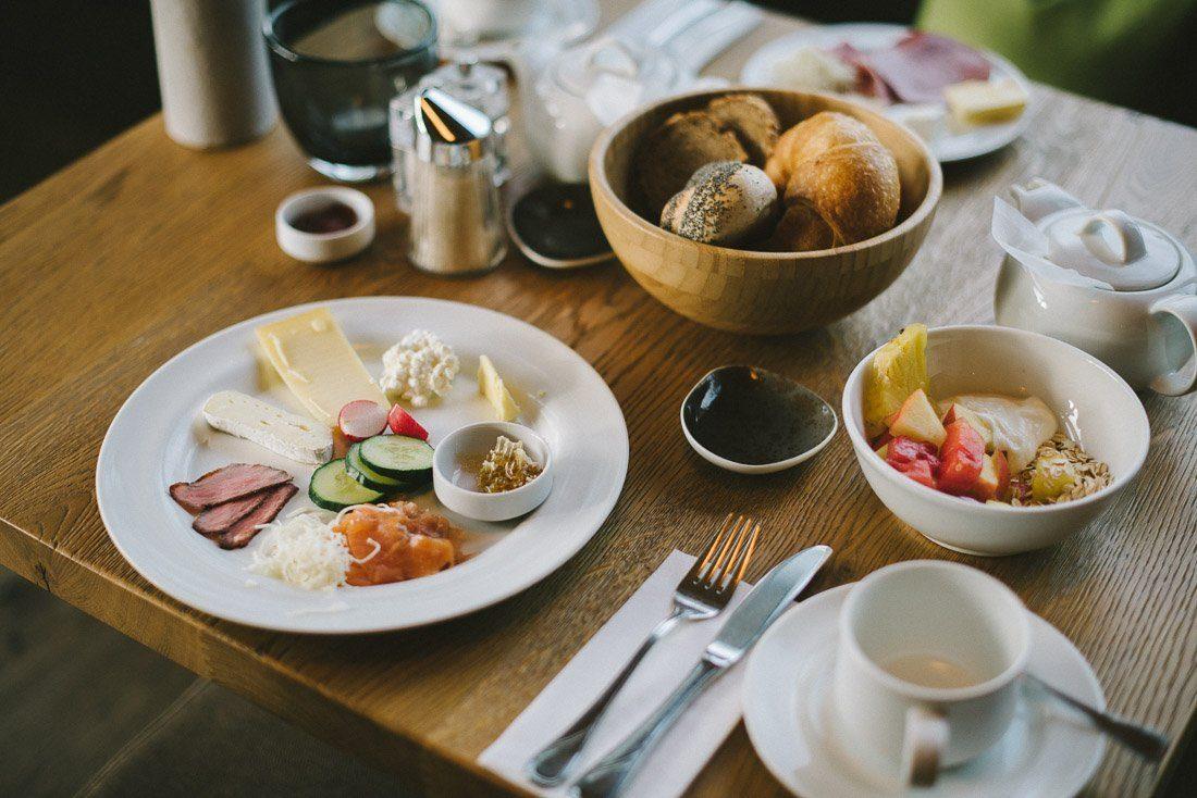 Frühstück in der Forsthofalm