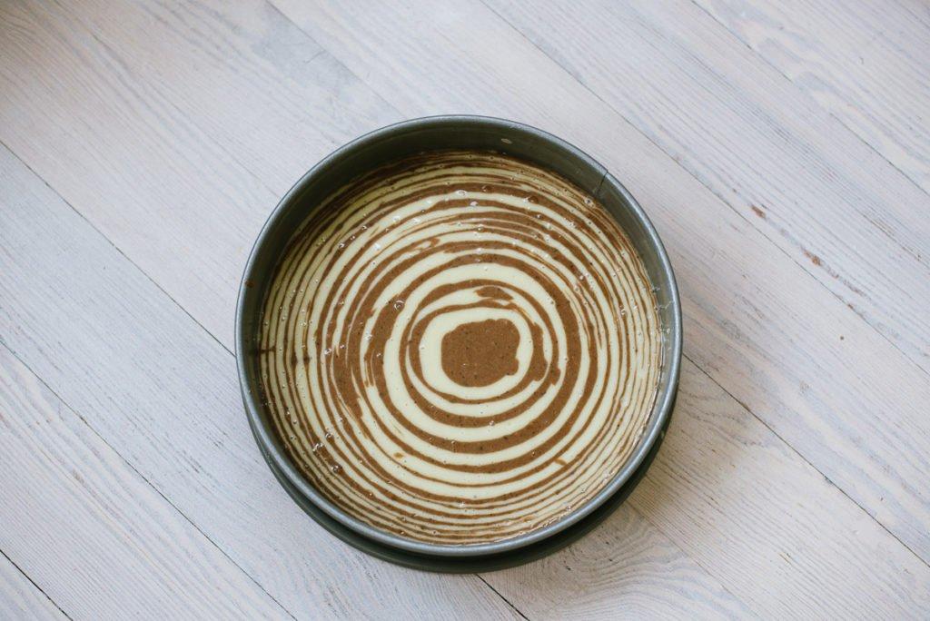 Anleitung Zebrakuchen